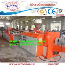 tres capas pmma / asa pvc corrugado techo que hace la máquina