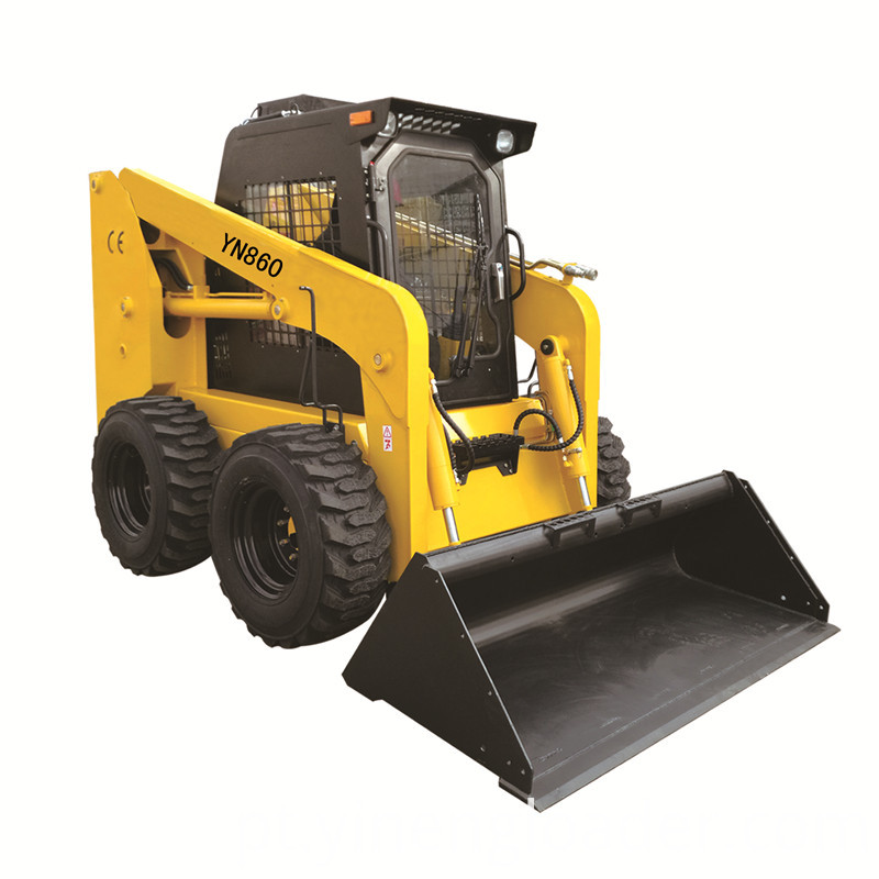 Small Skid Steer Loader