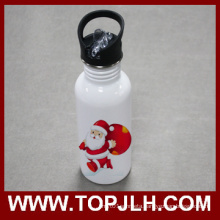 Stainless Steel Sport Canteen Water Bottle with Straw