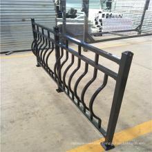 Modern design luxury interior wrought iron handrail / outdoor wrought iron stair railings