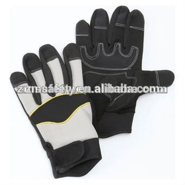 Synthetic leather power tool anti-vibration glovesJRM64