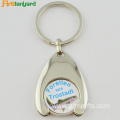 Customized Trolley Coin Keychain With Plating