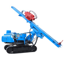 Full hydraulic Crawler screw pile driver Construction site photovoltaic pile driver