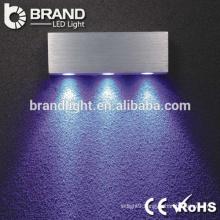 Hot sale super brightness aluminum pmma led wall lamp for indoor decoration