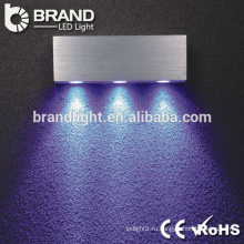 Алюминиевый PMMA яркости супер яркого сбывания вел светильник стены для крытого украшения