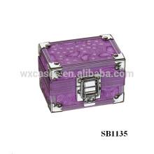 caja de reloj solo de aluminio de lujo del fabricante de China