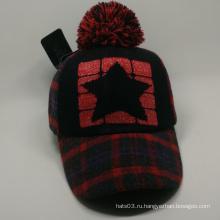 Комфортная теплая зимняя кепка с бейсбольной кепкой