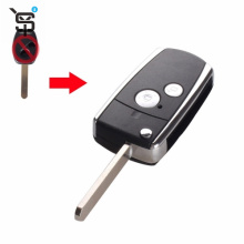 Top quality key shell remote for Honda 2 button key fob replacement  YS200029