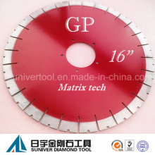 "Gp 16""*25mm Silent Granite Saw Blade"