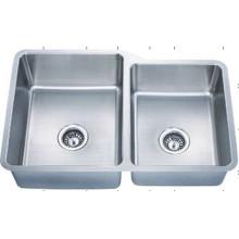 Sob o dissipador de cozinha Handmade montado à prova d'água (KUD3221-N)