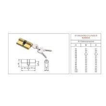 Cerradura estándar de la puerta del cilindro para los muebles caseros