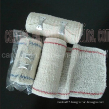 Medical Disposable Elastic Crepe Bandage by CE Approved