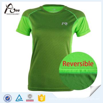 T-shirt de sport de sport de haute qualité