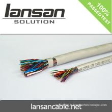 LANSAN Câble téléphonique 100p haute vitesse avec veste en PVC Conducteur nu 0,5 mm CE UL ISO APPROBATION