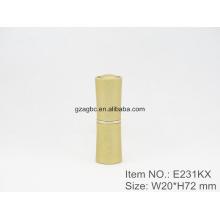Специальный & Elegant алюминиевый цилиндрических помады трубка контейнера E231KX, Кубок size12.1/12.7,Custom цвет