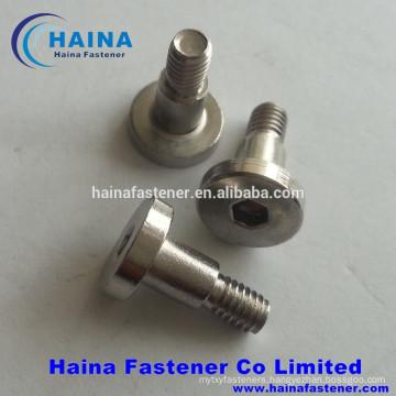 Stainless Steel Screw Allen Hex Socket Bolt Flat Head Shoulder Screw