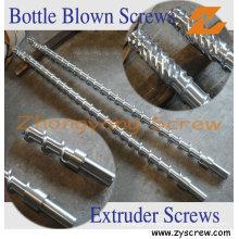 Single Screw and Barrel for PE/ Pet Bottle Blown Machine