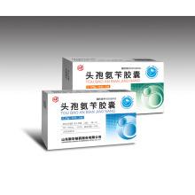Cephalexin Capsule Cephalosporin Antibiotikum zur Bekämpfung von Bakterien