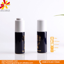 50ml blue pp dropper bottle with white press cap