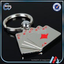 Póquer da forma da forma Pino feito sob encomenda da chave Keychain da forma Keychain da forma