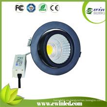 Downlight LED giratorio de 30W con garantía de 3 años