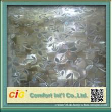 PVC-Glasdekorationsfolie für Badezimmer-Fenster