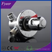 Robinet thermostatique en laiton de haute qualité de Fyeer (QH0211D)