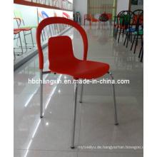 Heißer Verkauf neue Design beliebte hochwertige Kunststoff-Stuhl
