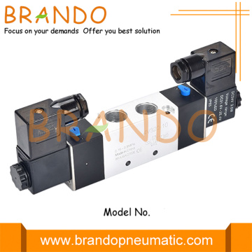3/8 `` NPT 4V320-10 5/2 Way Pneumatic Double Solenoid