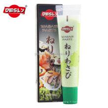 43g Wasabi Sauce Hero Pâte de wasabi pour aliments