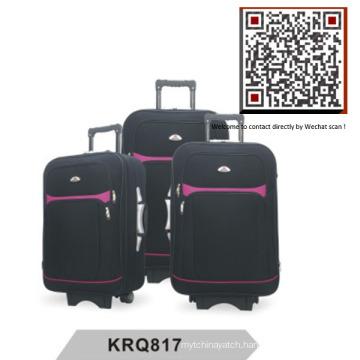 Hotsale Shantung Silk EVA Outside Trolley Luggage (KRQ817)