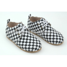 Американский классический стиль наружной Оксфордской обуви с резиновой подошвой оптом