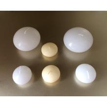 Wholesale unscented natürlichen elfenbein weißwasser tee schwimmkerze