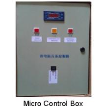 Caixa de controle elétrico para armazenamento a frio de pequeno e médio porte