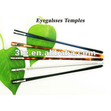 Temples de lunettes pour pièces de cadre optique