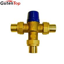 Vannes de mélange d'eau en laiton sans plomb de Gutentop pour le système d'eau chaude et froide