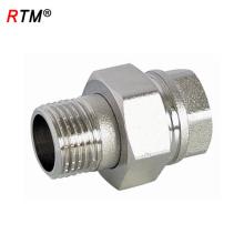 Conector de latón macho de la unión de la calle del acero inoxidable B17