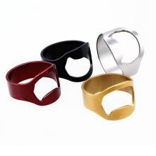 Abrebotellas de anillo de acero inoxidable para trabajo pesado