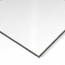 Matte white 0.1mm skin 3mm thickness ACP