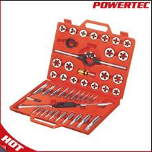 Powertec 45PCS Metric Threading Screw Tap and Die Set