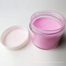 Poudre acrylique transparente rose en gros, poudre acrylique blanche claire pour nail art, poudre d'acrylique à ongles claire