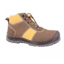 Хорошее качество Промышленные PU / кожа труда Рабочая промышленная обувь безопасности