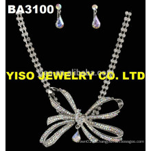 Schmetterling Kristall schöne Halskette für Frauen