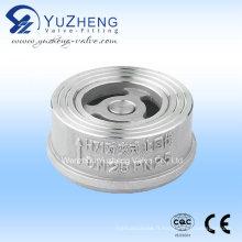 Valve de retenue de gaufrettes en acier inoxydable H71