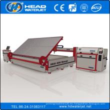 HEAD famoso China CNC máquina de corte de chorro de agua manufactuer