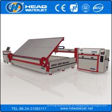 HEAD знаменитый Китай CNC водоструйная резка машина manufactuer