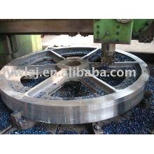 Usinage d'acier en fonte