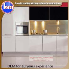 Gabinete de cozinha com Hardwares (MOQ = 1 conjunto)