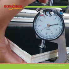 O filme de 18mm enfrentou a madeira compensada marinha da madeira compensada para o molde da construção