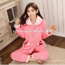 Stocked Lovely Fleece Warm Women's Home Wear suit wholesale